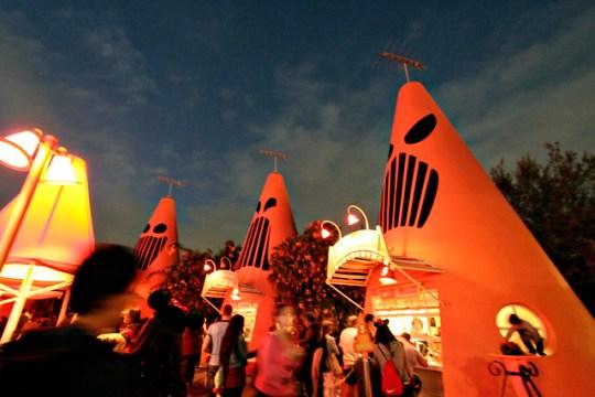 spooky cones