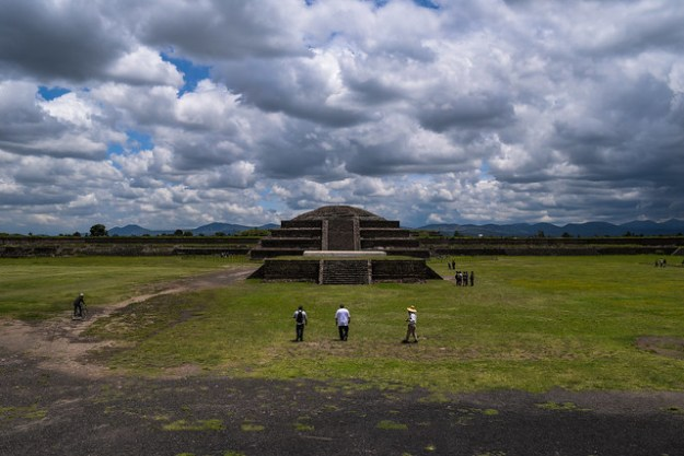 Central View of the Cuidadela at Teotihuacan