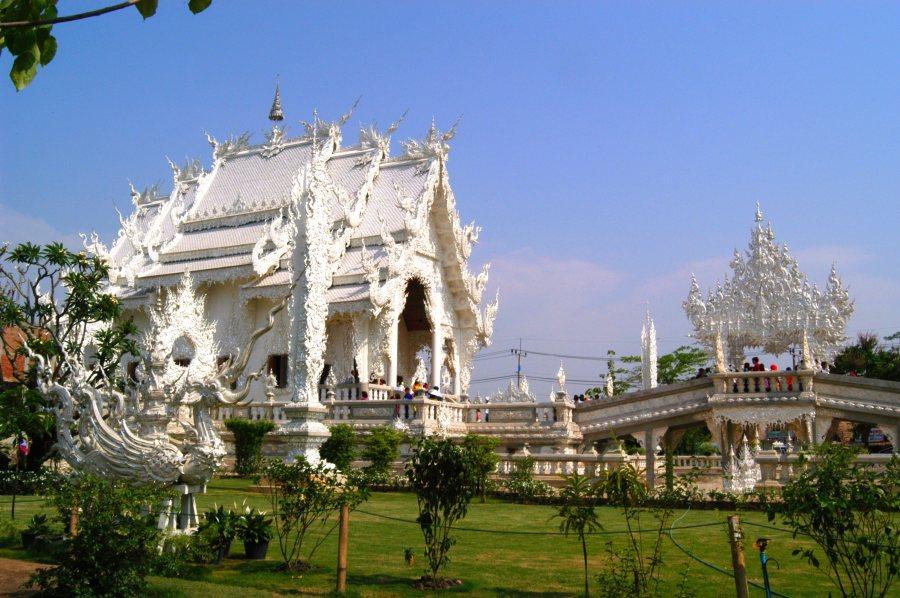 Wat Rong Khun,วัดร่องขุ่น,泰國清萊,清萊,清萊景點,白廟 @VIVIYU小世界
