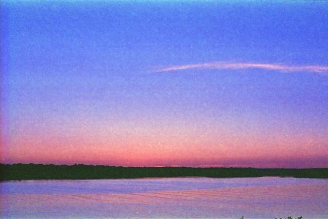 sunset over Tjärö