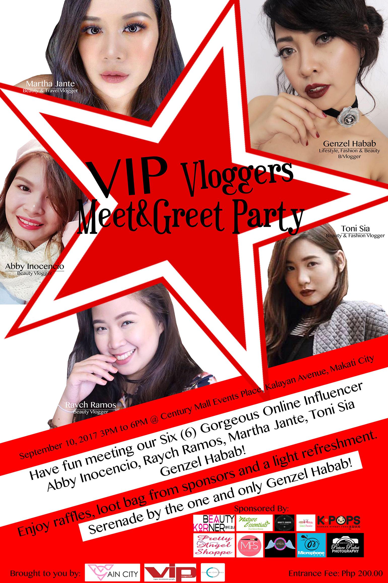 2 VIP Magazine - Vain City - VIP Vloggers Meet and Greet