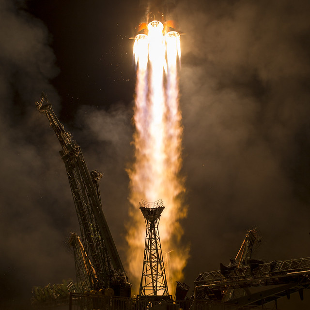 Expedition 53 Soyuz Launch (NHQ201709130005)