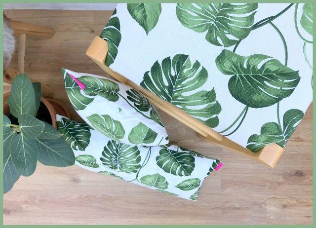labels & botanische kussens