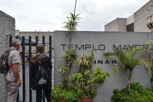 Not the entrance to Templo Mayor