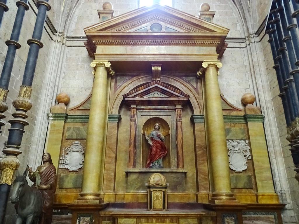 Segovia Capilla de Santa Bárbara Catedral de Nuestra Señora de la Asunción y de San Frutos 02