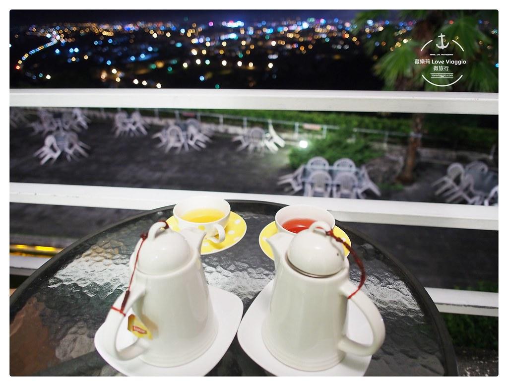 向陽山茶舖,夜景,景觀餐廳,花蓮夜景,花蓮景點,花蓮餐廳 @薇樂莉 Love Viaggio | 旅行.生活.攝影