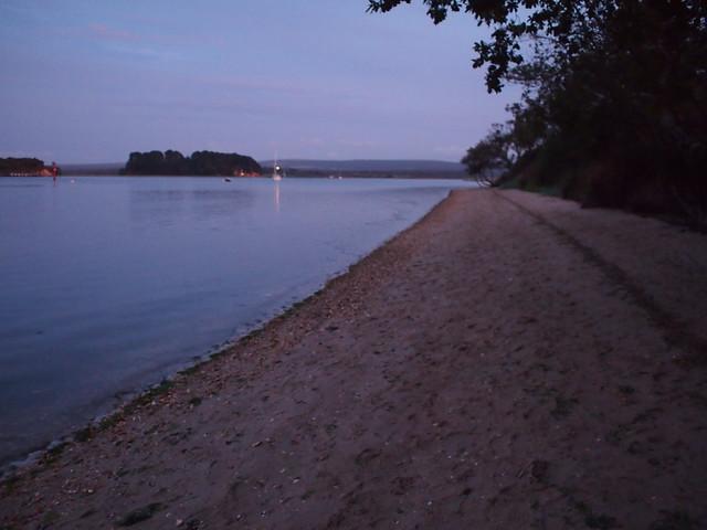 NCN2 Trip - Arne beach