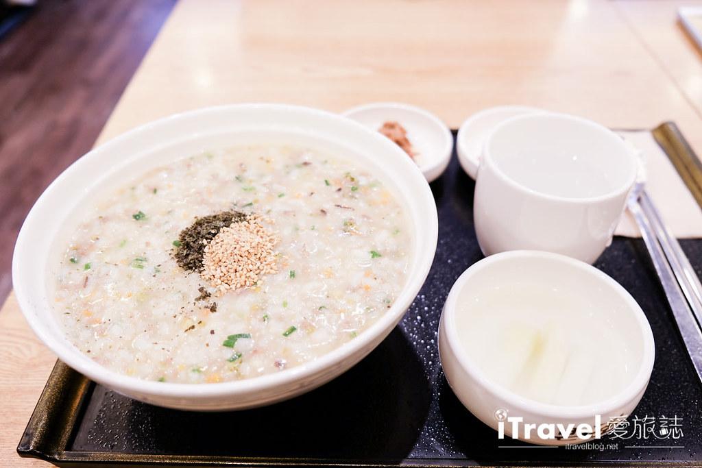 《首尔早餐推荐》本粥明洞店:份量饱足的好营养早午餐