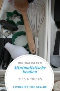 Minimalistische keuken