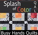 Splash Quilt Along @ Busy Hands Quilts