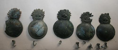 emblematy płonący granat austria