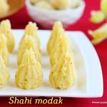 Shahi coconut modak