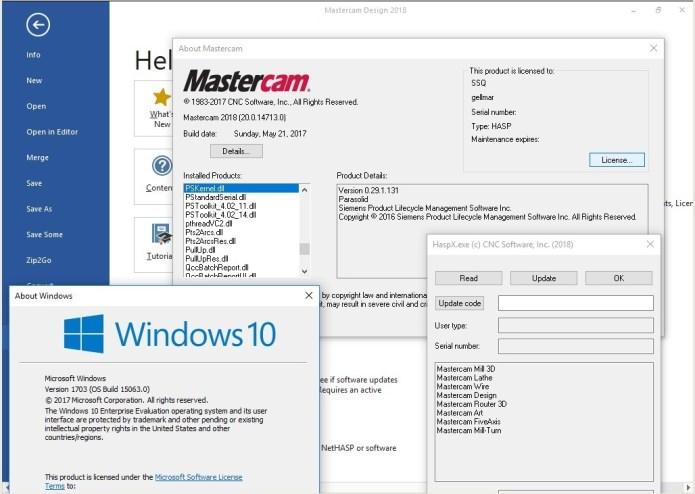 phần mềm Mastercam 2018 x64 full license