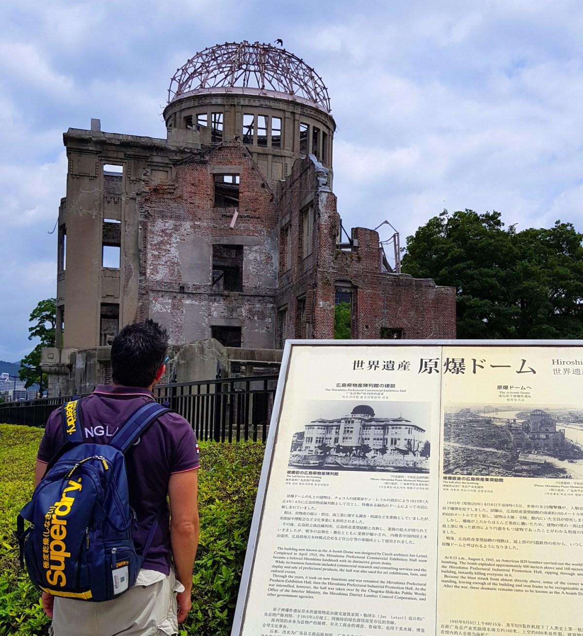 Hiroshima bomba atómica - Hiroshima Dome - Viajar a Japón - ruta por Japón en dos semanas ruta por japón en dos semanas - 36507662260 7be2711676 o - Nuestra Ruta por Japón en dos semanas (Diario de Viaje a Japón)