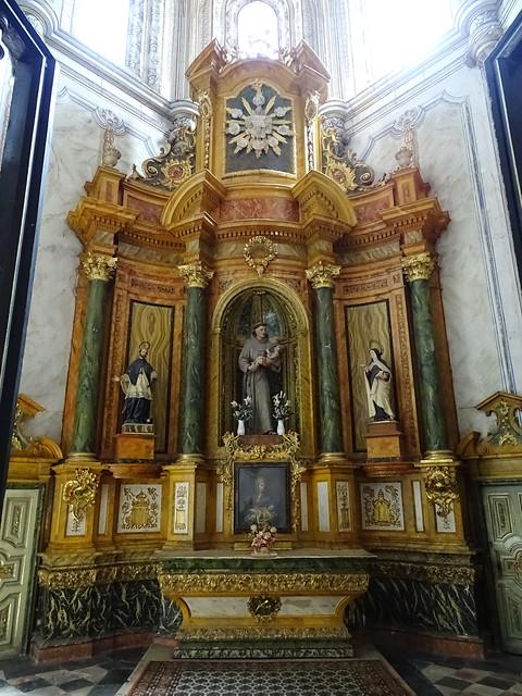 Segovia Capilla de San Antonio de Padua en la Catedral de Nuestra Señora de la Asunción y de San Frutos