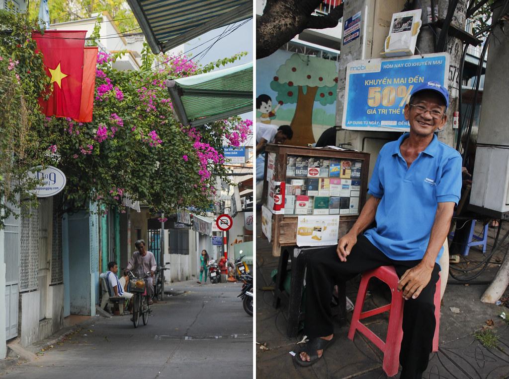 på opdagelse i Can Tho, Vietnam