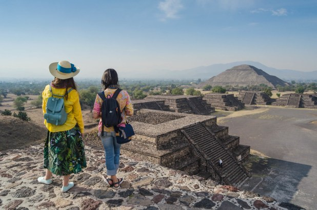 Vista de Teotihuacan