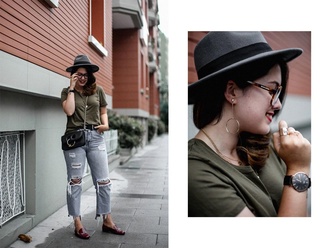 camiseta-verde-militar-basica-look-gucci-horsebit-mocasines-streetstyle14