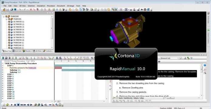 Cortona3D RapidManual V10.0 full