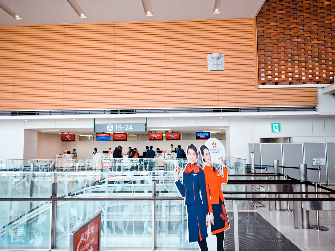 香港航空商務艙札幌─香港航線-488