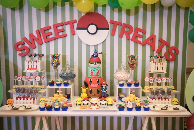 pokemon party sweets