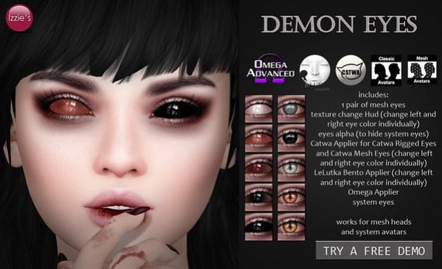 Demon Eyes (for FLF)