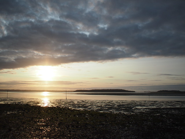 NCN2 Trip - Poole harbour sunrise