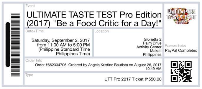 UTT Ticket Pro Edition