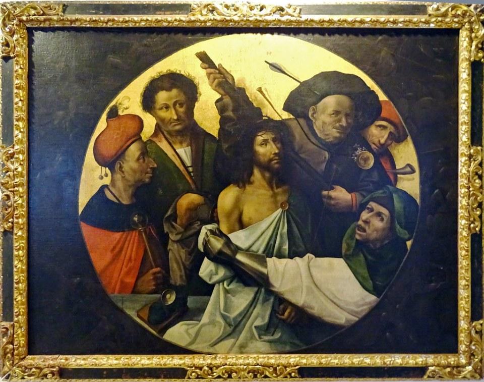 Ecce homo Museo de Segovia pintura copia del Bosco Sala Renacimiento y Barroco 09