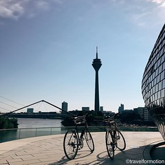 #biking #great #way to #explore #visitduesseldorf #dusseldorf #düsseldorf #germany #wanderlust #travel #travelphotography #citybreak #visitgermany #guardiancities #guardiantravelsnaps #vsco #vscocam #igtravel #dusseldorf_de #city #blue #summer #monday #la