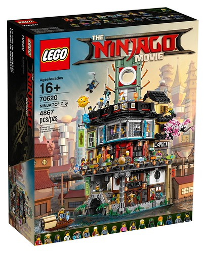 70620 LEGO Ninjago City now available