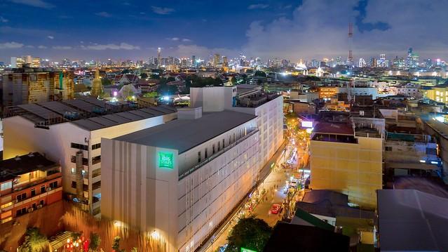 ibis styles Bangkok Khaosan Vientai - view