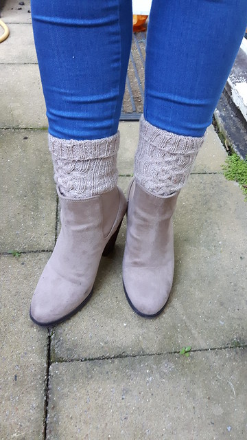Oatmeal socks