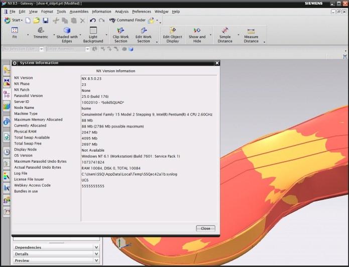 Thiết kế với Phần Mềm Siemens NX Ungraphic 8.5 full