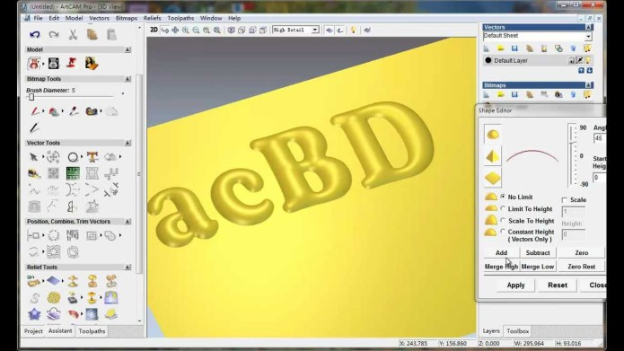 Thiết kế nghệ thuật với artcam pro 8.0 full license