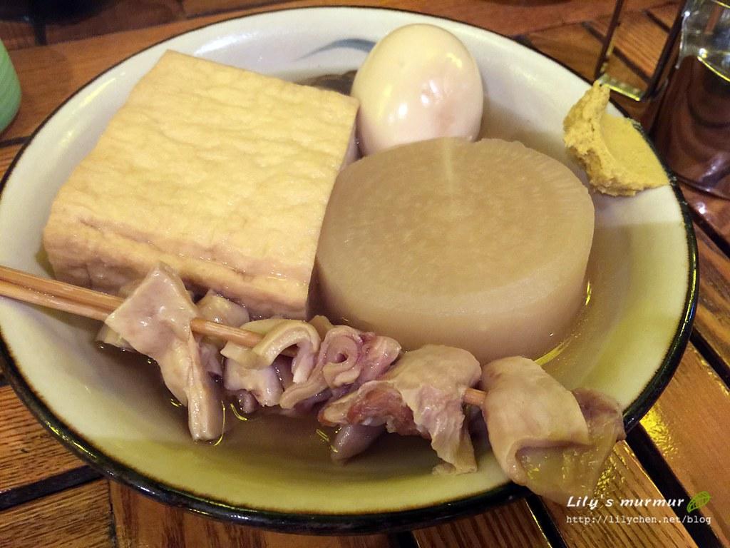 第一道:沖繩風關東煮。都好入味好好吃!豬腸超推!