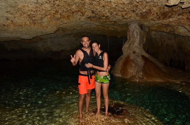 Interior del rio subterráneo