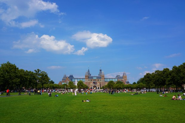 Museumplein and Rijksmuseum