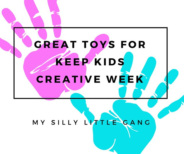 Great Toys For Keep Kids Creative Week