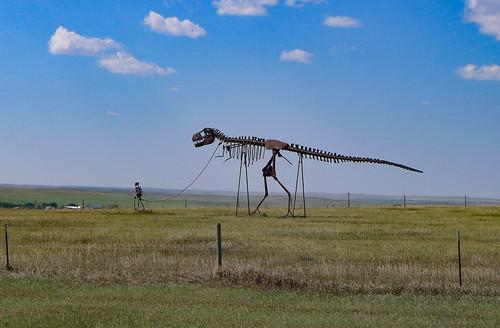 Man Walking Dinosaur-001