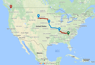 Day Three Route