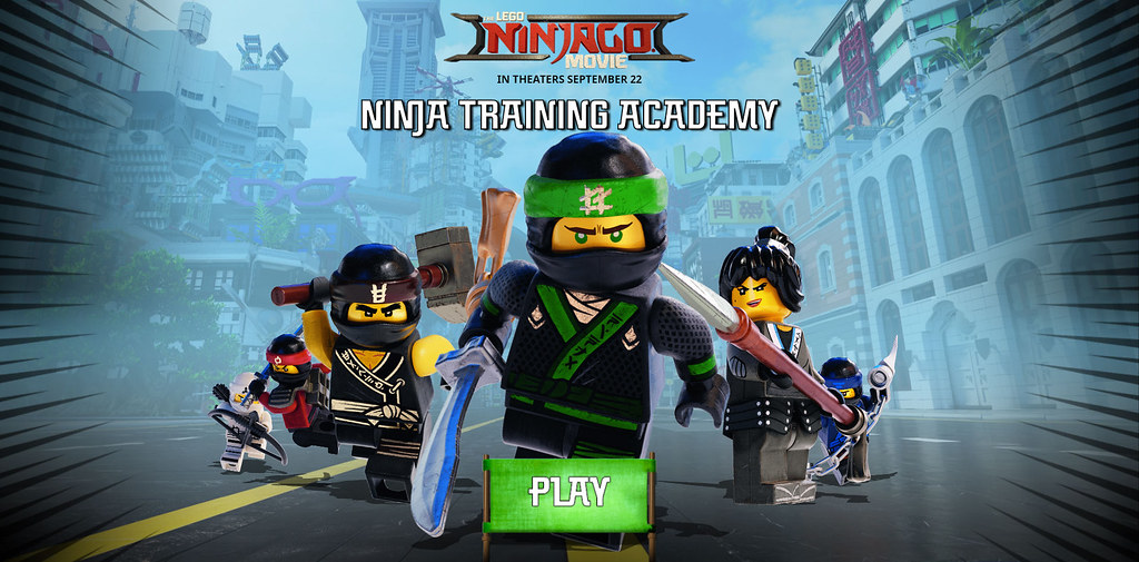 LEGO releases two Ninjago Movie games