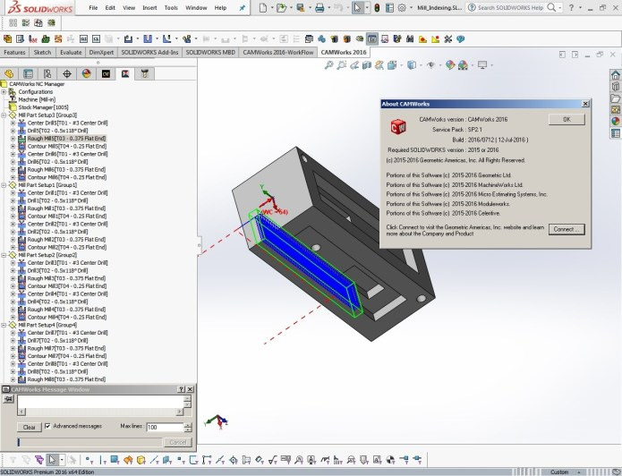 CNC programming with camworks 2016 sp2.1 full crack