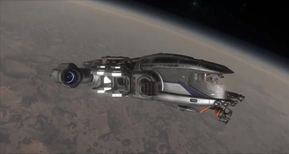 Star Citizen - Prospector In Orbit