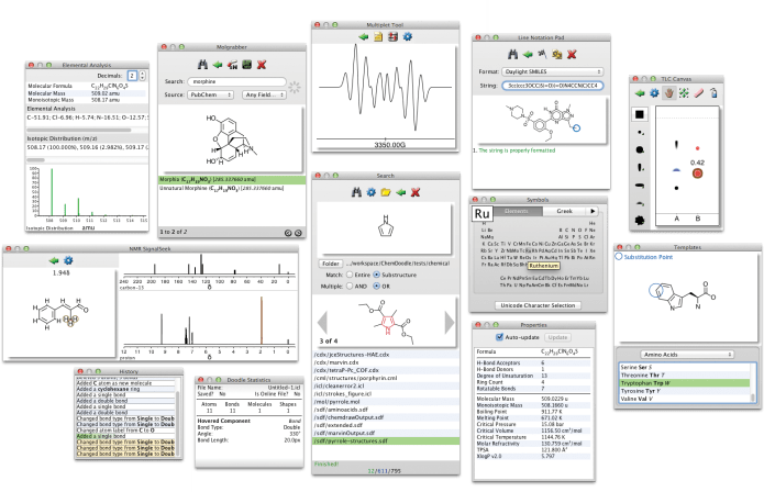 Working with ChemDoodle 8.0.1 full license