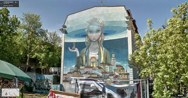 KD's World Tour: Kiev wall art