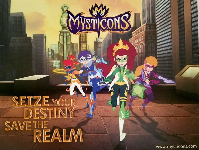 Mysticons It's Time for a NEW Type of Hero