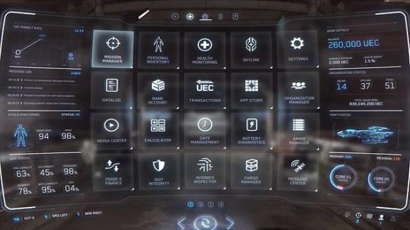 Star Citizen - Mobiglass UI