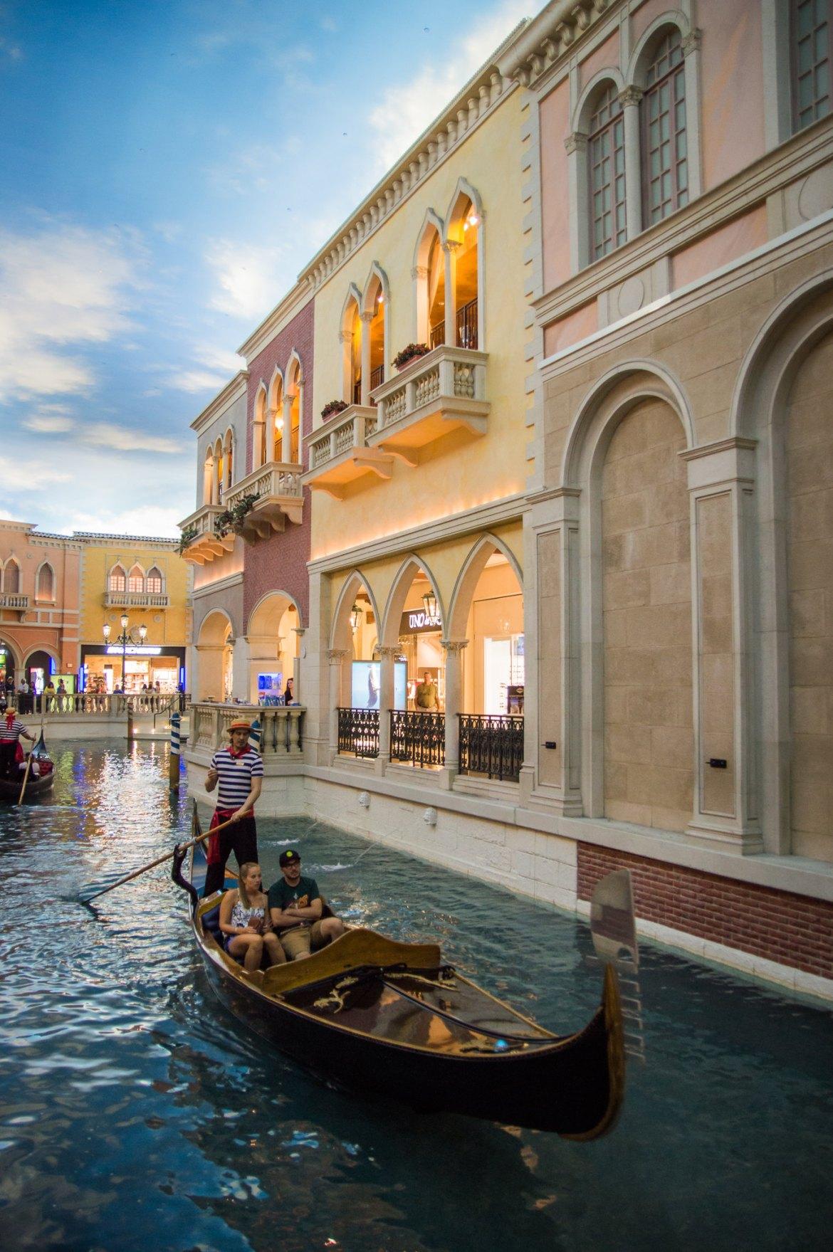 Las Vegas The Venetian Gondolas