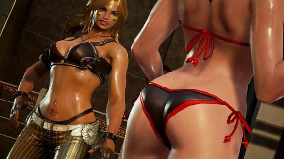 Tekken 7 - Sweaty Bikini Bodies
